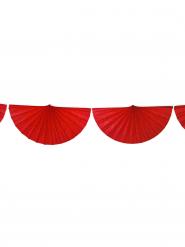 Guirlande éventail rouge