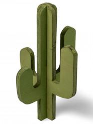 Cactus en bois 18 cm