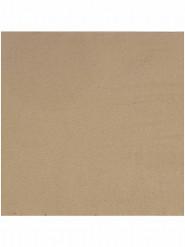 30 Serviettes en papier couleur kraft 33cm