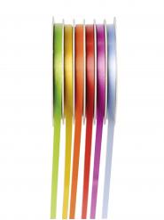 6 Rouleaux de bolducs pastel 6 m