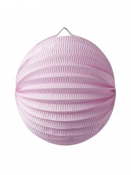 Lampion Boule 20 cm rose