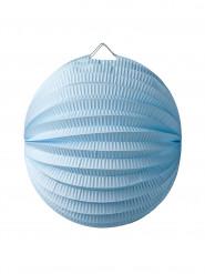 Lampion Boule 20 cm bleu ciel