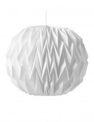 Boule origami blanche 28x37cm
