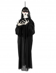 Décoration à suspendre fille de l'horreur 90 cm Halloween