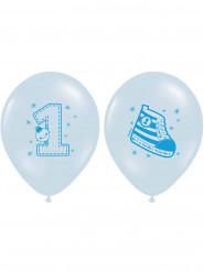 6 Ballons 1 an garçon