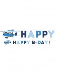 Guirlande Happy Bday Petit Avion