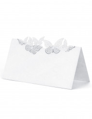 10 Marque-places papillons