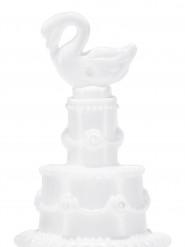 4 Flacons à bulles cygne mariage