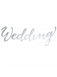 Guirlande Wedding argent