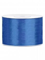 Ruban satin bleu marine  5 cm x 25 m