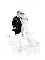 Figurine Mariés avec socle 15 cm