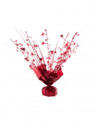 Poids pour ballon hélium étoiles rouge 250 gr