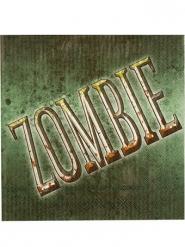 12 Serviettes en papier Zombie Halloween 33 x 33 cm