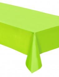 Nappe plastique vert pomme 137cm x 274 cm