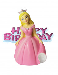 Figurine princesse Happy Birthday 6.5 cm