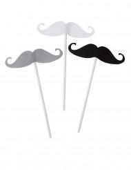 Kit photobooth 12 pièces moustache