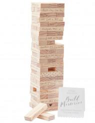 Livre d'or jeu de construction en bois
