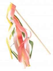 10 Baguettes en papier coloré