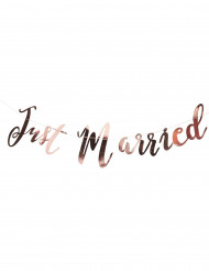 Suspension Just Married rose gold 1,5 mètres