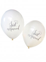 10 Ballons Just Married