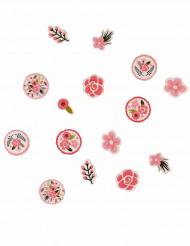 Confettis fleurs vintage 14 grammes