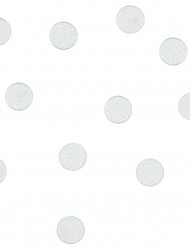Confettis ronds à paillettes argentées 14 g