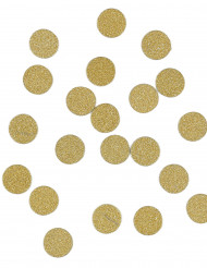 Confettis de table à paillettes or 14 g