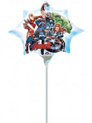 Ballon aluminium Avengers™ gonflé 25 x 27 cm