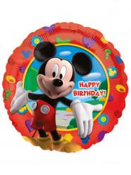 Ballon aluminium Happy birthday Mickey™ 43 cm