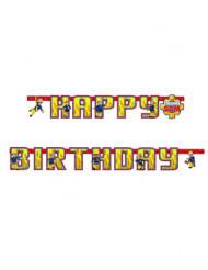Guirlande Happy Birthday Sam le Pompier™ 180 cm