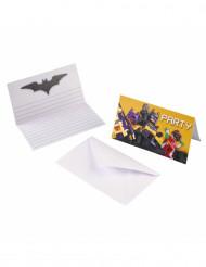 8 Invitations et enveloppes Lego Batman™