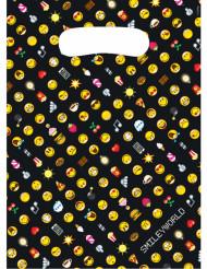 8 Sachets en plastique Smiley Emoticons™