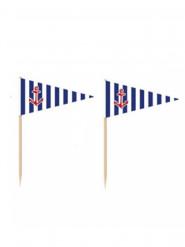 36 Pics drapeau Ancre Marine