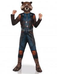 Déguisement avec masque Rocket Raccoon™ Les gardiens de la galaxie 2™ enfant