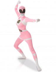 Déguisement seconde peau Power Rangers™ Rose femme
