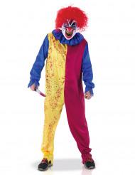 Déguisement clown psychopathe adulte