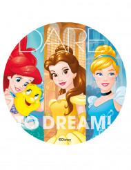Disque en sucre Princesses Disney™ 20 cm