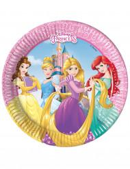8 Assiettes en carton Princesses Disney Dreaming™ 20 cm