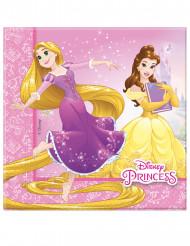 20 Serviettes en papier Princesses Disney Dreaming™ 33 x 33 cm