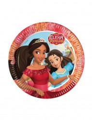 8 Assiettes en carton Elena d'Avalor™ 23 cm