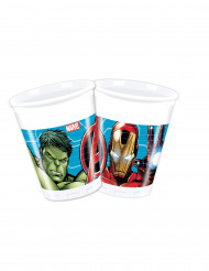 8 Gobelets en plastique Avengers Mighty™ 200 ml