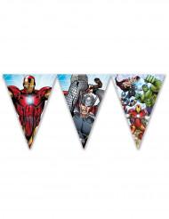 Guirlande fanions Avengers Mighty™ 2.3 mètres