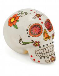 Décoration crâne coloré Dia de los muertos
