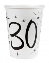 10 Gobelets en carton âge 30 ans