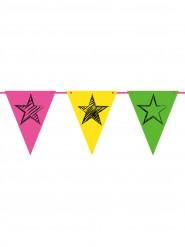 Guirlande Fanions Neon Party 6m