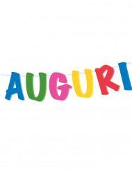 Guirlande Auguri 21 x 400 cm