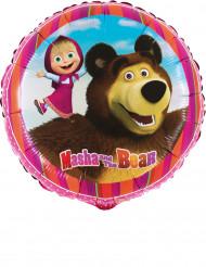 Ballon aluminium Masha et Michka™ 45 cm
