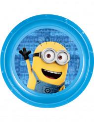 Assiette plastique Minions™ 21 cm