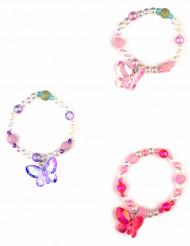 Bracelet papillon rose fille