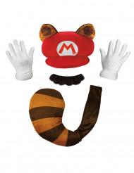 Kit Mario Raccoon Nintendo® Adulte